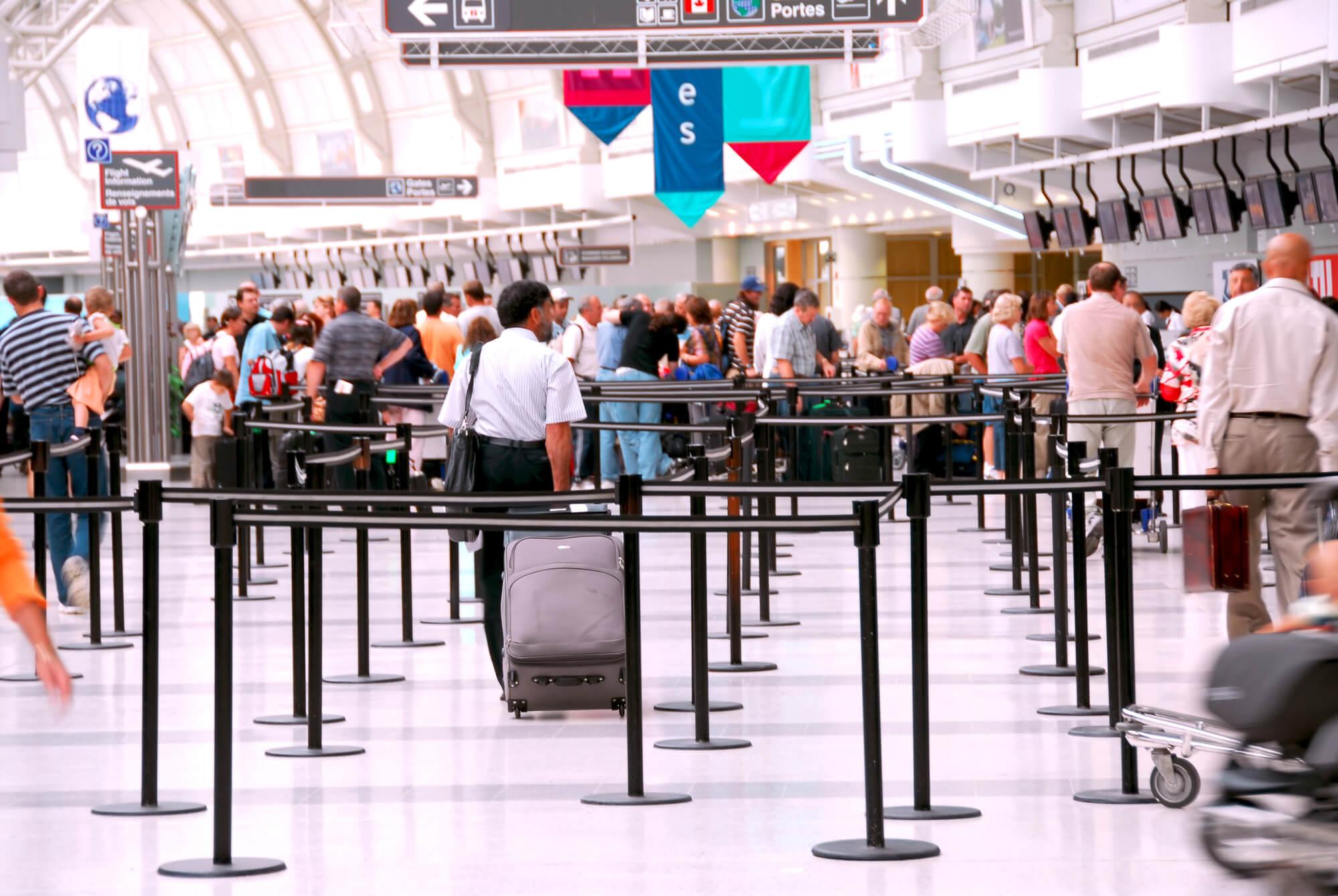 Empleo en aeropuertos